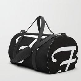 Alphabet,,,,,F Duffle Bag