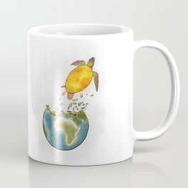 Climate changes the nature Coffee Mug