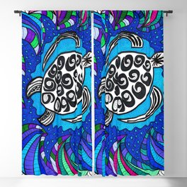 Sea Turtle Blackout Curtain