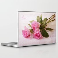 roses Laptop & iPad Skins featuring Roses by Fine Art by Rina