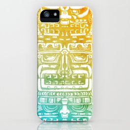Mayan Totem iPhone Case