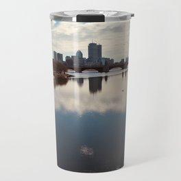 City Over Lake Travel Mug
