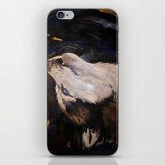 Howling Husky iPhone & iPod Skin