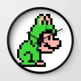 Frog Mario Wall Clock