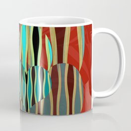 Love Exotic Hearts Coffee Mug