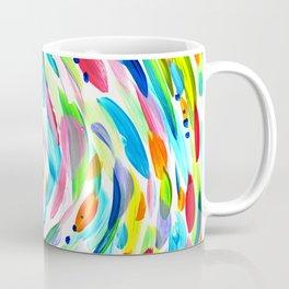 Rainbow Swirl Painting Abstract Coffee Mug