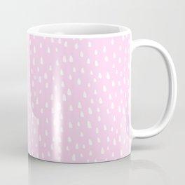 Baby Pink Paint Drops Coffee Mug