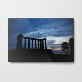 National Monument of Scotland Metal Print