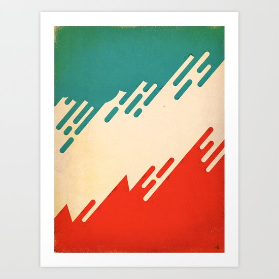 (I've Seen) Fire & Rain Art Print