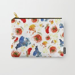 Poppy Paint Carry-All Pouch