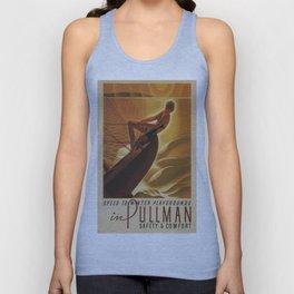 Vintage poster - Pullman Unisex Tank Top
