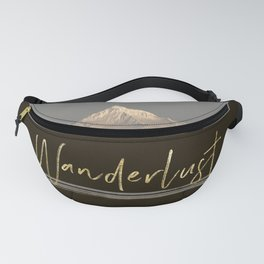 Wanderlust Pacific Northwest - Mt Hood Lake Reflection Fanny Pack