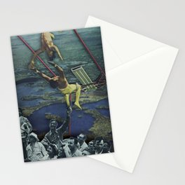 Trapeze Artists Stationery Cards