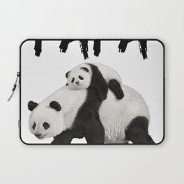 Cool Graphic Design Panda Papa Bear Dad Gift T-shirt Laptop Sleeve