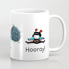 Hip Hip Hooray (Three Cheers for Chives) Coffee Mug