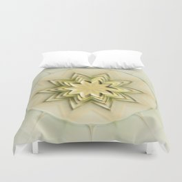 The yellow Star Duvet Cover