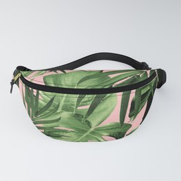 Tropical Jungle Leaves Pattern #11 #tropical #decor #art #society6 Fanny Pack