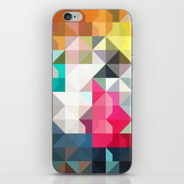 color story - pixelated warfare iPhone Skin