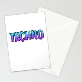 """Your Techno Art Work Here"" tee design for your friends and family this holiday! Go get this now!  Stationery Cards"