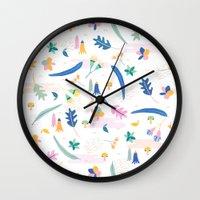 australia Wall Clocks featuring Australia by Brigitte Huynh