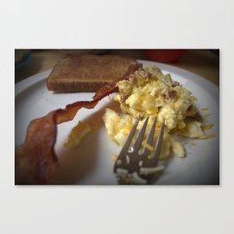 Breakfast Anyone? Canvas Print