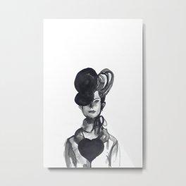 Woman XY 101 Metal Print