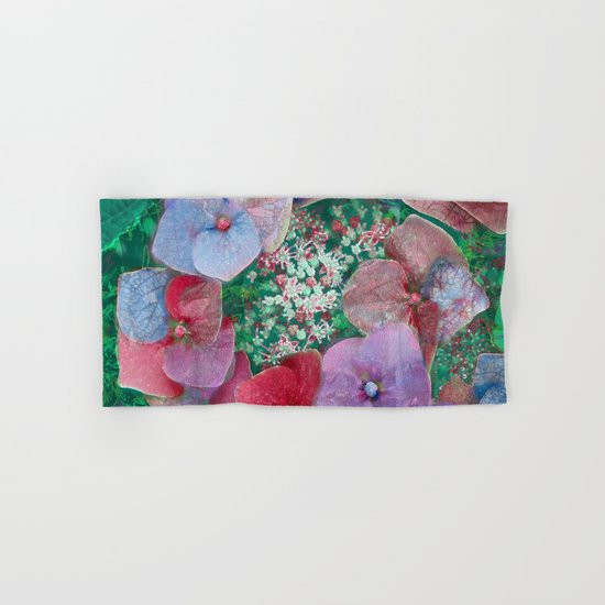 Floral abstract(55) Hand & Bath Towel