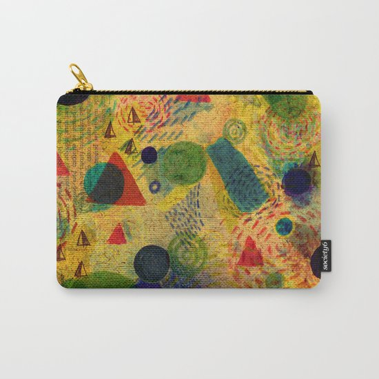 Color Dimension Carry-All Pouch