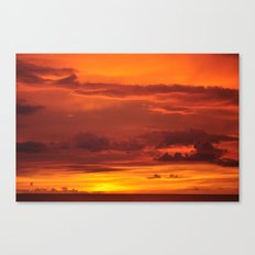 Soak up the sun. Canvas Print