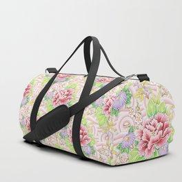 Pink Bouquet Duffle Bag