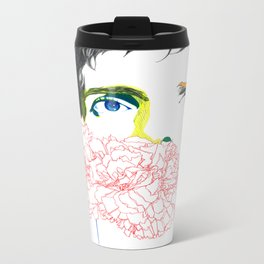 ian curtis Metal Travel Mug