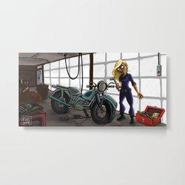 Garage Metal Print