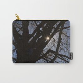 Sun through the branches Carry-All Pouch