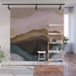 Meditaton Geode Wall Mural