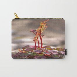 Wildflower between stones scandi landscape Carry-All Pouch