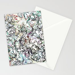 fiery marble 010 Stationery Cards