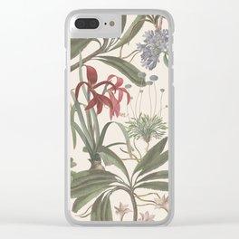 Botanical Stravaganza Clear iPhone Case