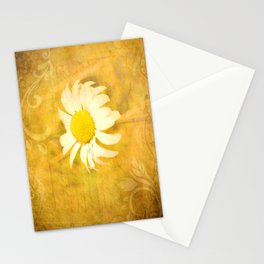 Textured Daisy Stationery Cards