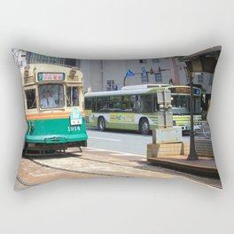 Trams of Hiroshima Rectangular Pillow
