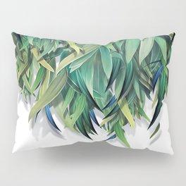 """""""Spring Forest of Surreal Leaf"""" Pillow Sham"""