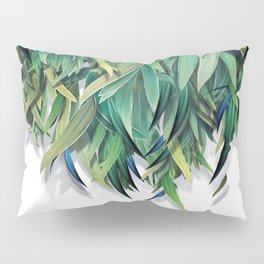 """Spring Forest of Surreal Leaf"" Pillow Sham"