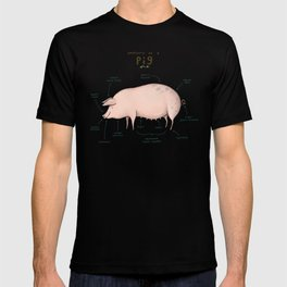 Anatomy of a Pig T-shirt