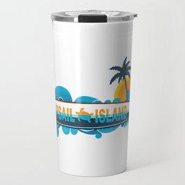 Topsail Island - North Carolina. Travel Mug