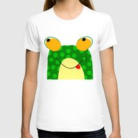 frog T-shirts featuring Frog by Jessica Slater Design & Illustration