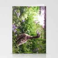 duck Stationery Cards featuring Duck by Terri Ellis