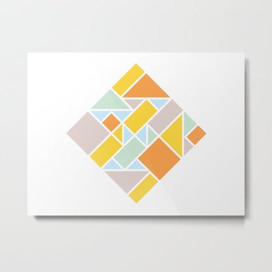 Shapes 006 Ver. 2 Metal Print