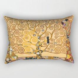 Gustav Klimt Tree Of Life Rectangular Pillow