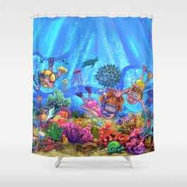 Under the Sea Shower Curtain