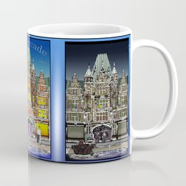 Dayton Arcade Drawings Coffee Mug