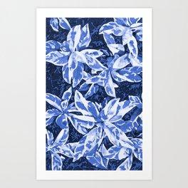 Aloha Blue Art Print